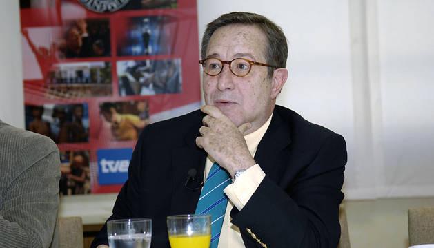 Pedro Erquicia,director de Documentos TV hasta su jubilación.