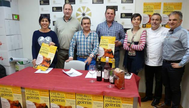 Cristina Jordana, Ino Illanes, José Flamarique, Francisco Urbayen, Lotreto San Martín, Jesús Astarriaga y Juan Andrés Echarri.