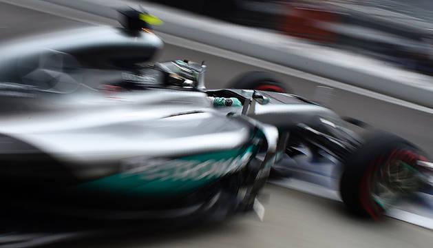 Nico Rosberg se hace con la 'pole' en Sochi