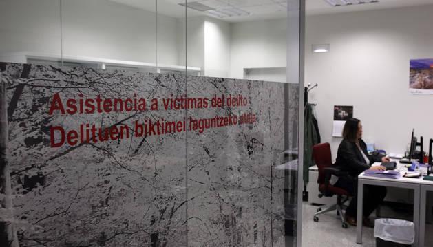 Instalaciones de la nueva oficina para la atención a las víctimas de delito, inaugurada esta semana en el Palacio de Justicia.