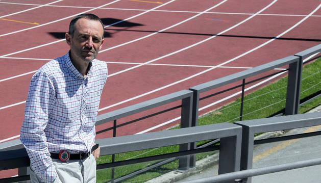 Esteban Gorostiaga, director del Centro de Estudios, Investigación y Medicina del Deporte en Larrabide.