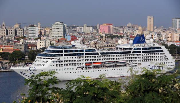 Llega a La Habana primer crucero de EEUU en más de 50 años