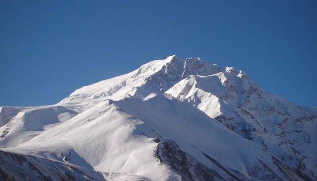 La cumbre del Shisha Pangma.