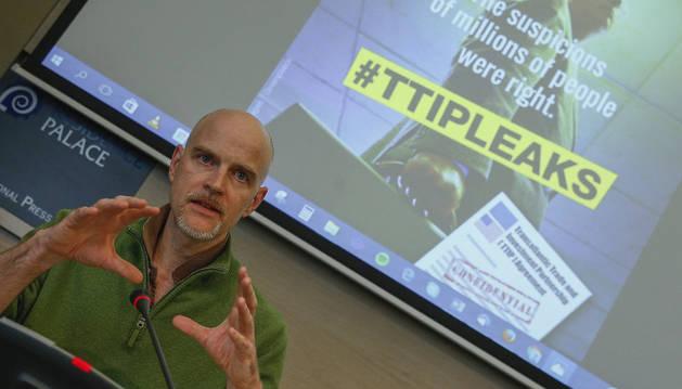 Greenpeace pide parar el TTIP hasta que no haya un debate público