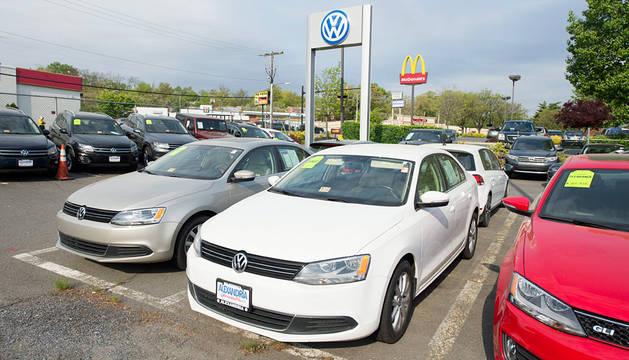 Concesionario de Volkswagen.