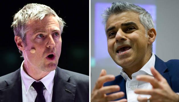 El conservador Goldsmith y el laborista Khan se disputan la alcaldía de Londres