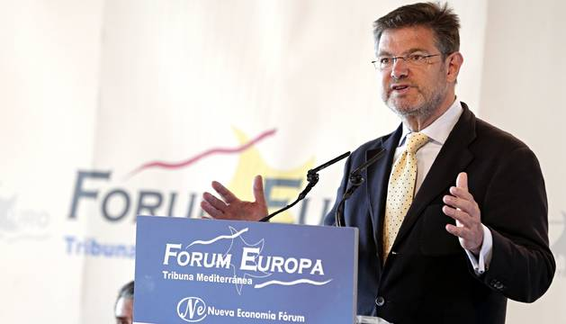 Rafael Catalá, ministro de Justicia en funciones.