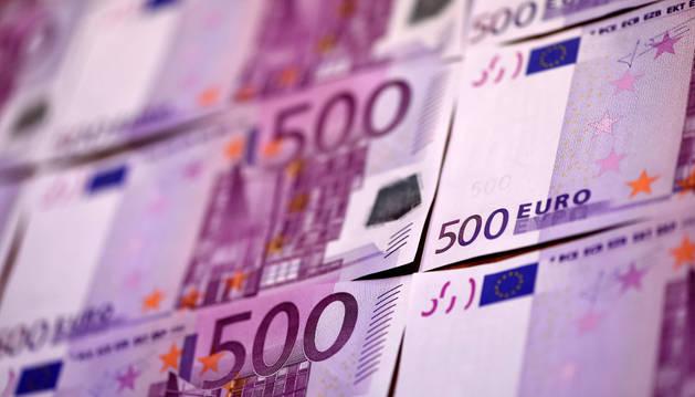 Los billetes de 500 euros dejarán de emitirse en 2018.