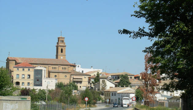 Imagen de la localidad de Murchante.