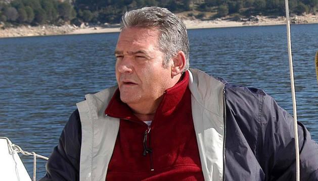 Ángel de Andrés López, en el rodaje de 'Diez en Ibiza'.