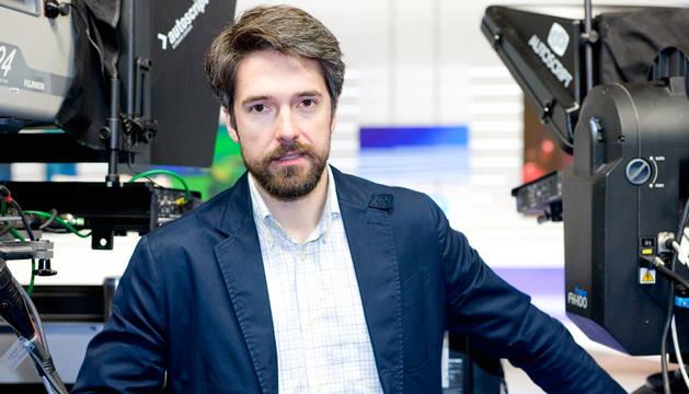 El periodista de Televisión Española Carlos Franganillo.