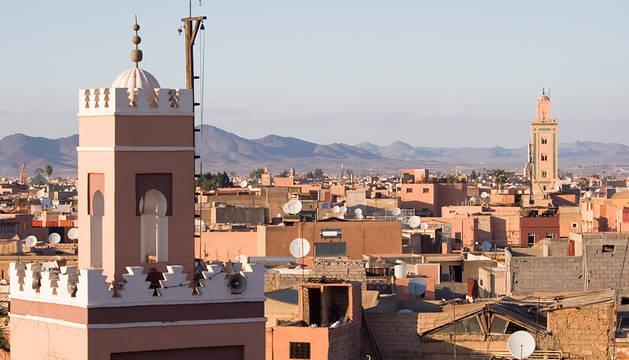 Vista de Marrakech.