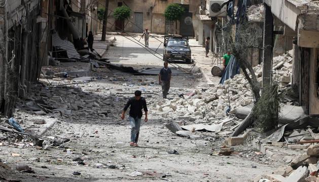 Alepo amanece en relativa calma tras la entrada en vigor del alto el fuego