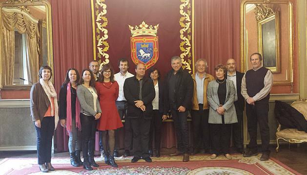 Encuentro celebrado en Pamplona entre ANEC y CREA Aquitania