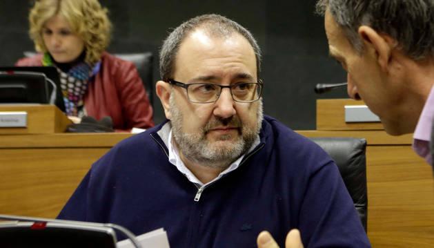José Miguel Nuin, coordinador  Izquierda Ezkerra.