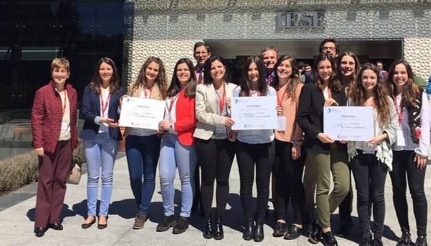 Galardonados del Clinical Case Competition de la Universidad de Navarra.