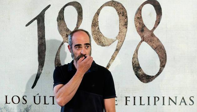 Luis Tosar, uno de los protagonistas de  '1898. Los últimos de Filipinas'.