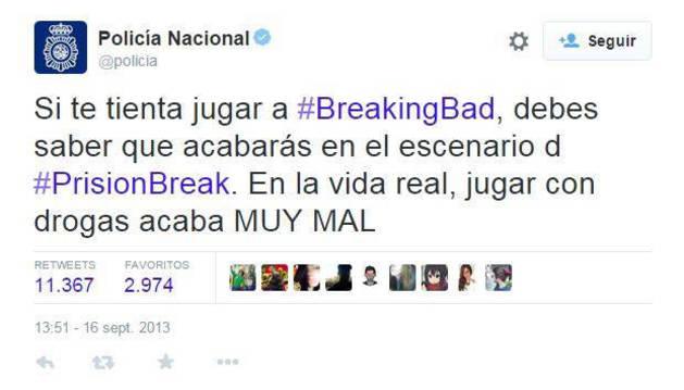 """Sólo en droga hubo 600 detenidos con las 'tuitredadas"""