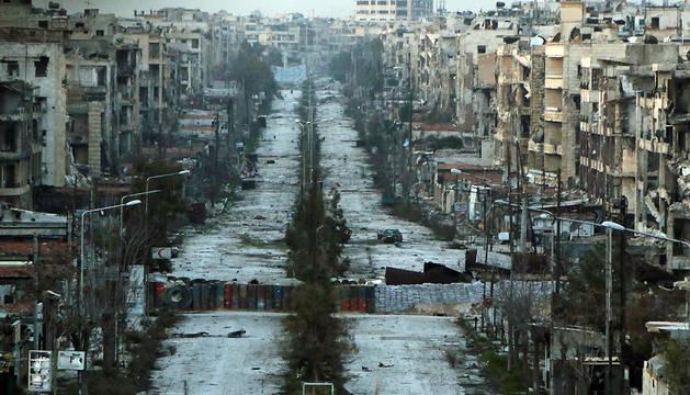 Al menos 73 muertos en combates desde ayer en la periferia del sur de Alepo
