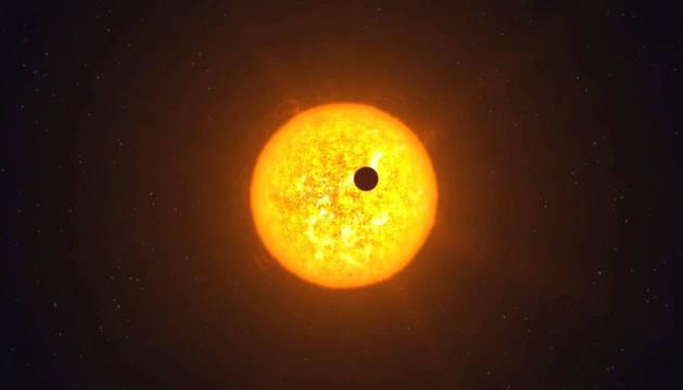 Transito de Mercurio por el Sol.