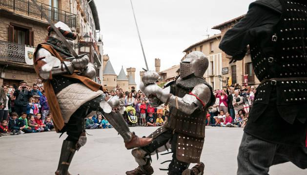 Fiestas medievales de Olite 2015.