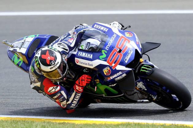 Jorge Lorenzo, en Le Mans.