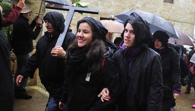 Olite, Carcastillo y Mélida se dan cita en la romería a Ujué
