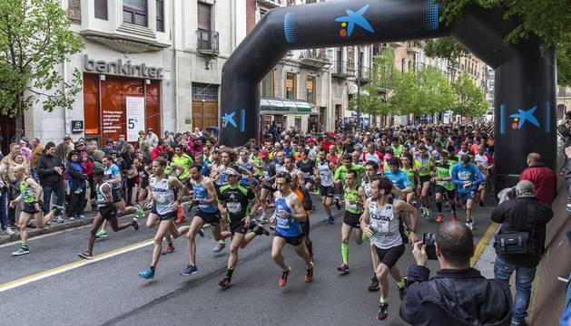 Miguel Aristu y Alejandra vencieron en la prueba de 21 kilómetros y Aitor Etxeberria y Ana Llorens, en la de 10 kilómetros.