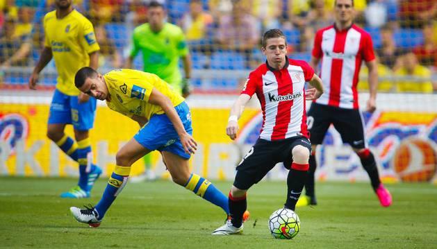 Iker Muniáin, contra la UD Las Palmas.