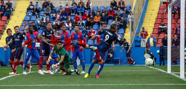 Fernando Torres marcó el gol del Atlético.