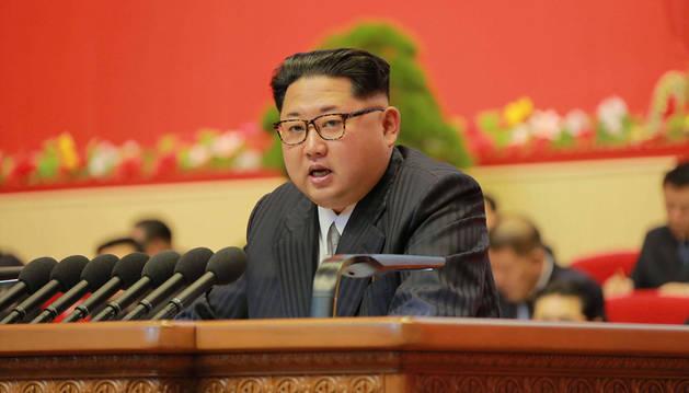 Kim Jong Un dice que Corea del Norte no usará armas nucleares si no es atacada