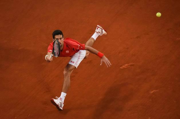 Djokovic, en la final contra Murray.