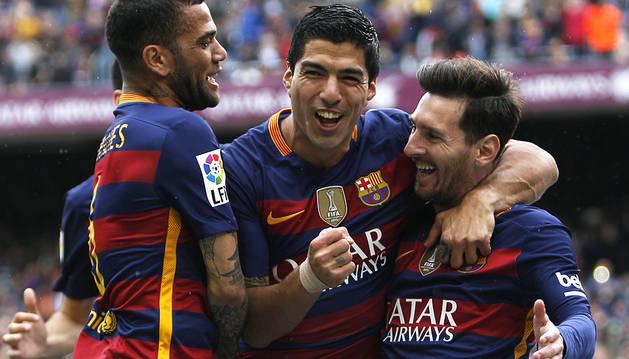 El Barça no da opción al 'Tamudazo'