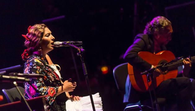 Estrella Morente, en una actuación del Flamenco on Fire del año pasado.