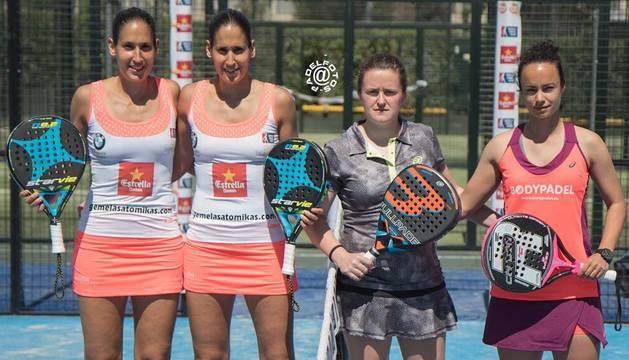 Maite Gabarrús, segunda por la derecha.