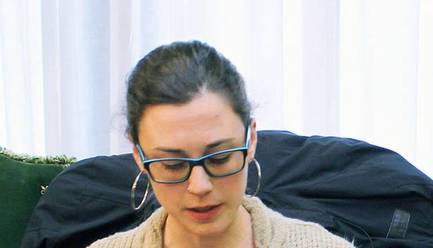 Laura Berro Yoldi, concejal de Aranzadi en Pamplona.
