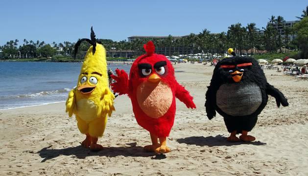 Promoción de la película 'The Angry Birds Movie' en la 69 Edición del Festival de Cannes