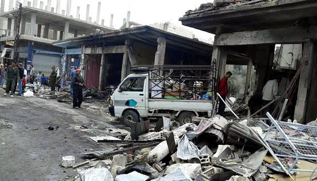 Ofensiva del Estado Islámico en el este de Siria para recuperar terreno