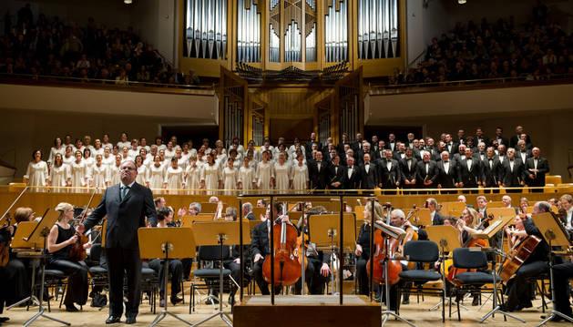 El Orfeón, con la Filarmónica de San Petersburgo en el Auditorio Nacional