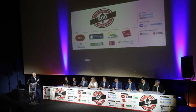 Presentación de la III EDP San Fermín Marathon.