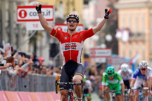 El ciclista alemán André Greipel.