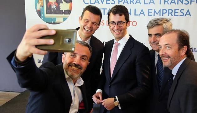 Diario de Navarra y BBVA organizaron el miércoles 11 de mayo de 2016 una jornada sobre digitalización empresarial.