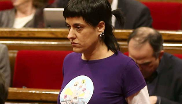 Anna Gabriel, de la CUP.