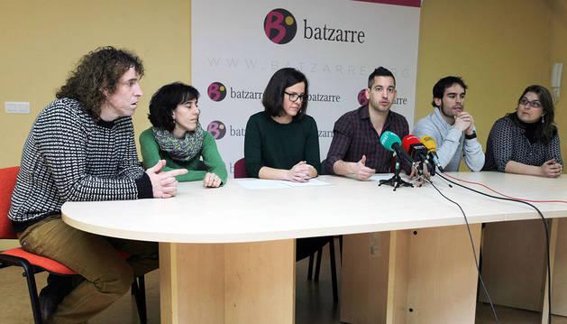 El 94% de las bases de Batzarre ratifican ir en las listas con Podemos e IU