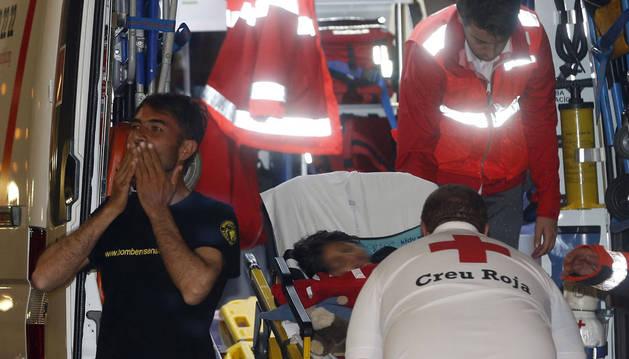 Osman se encuentra ya junto a su padre en el hospital La Fe de Valencia