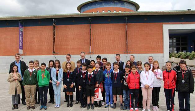 Participantes en la VI Edición del Spelling Bee Navarra 2016