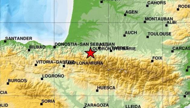 Un terremoto en el sur de Francia se deja notar hasta Tudela