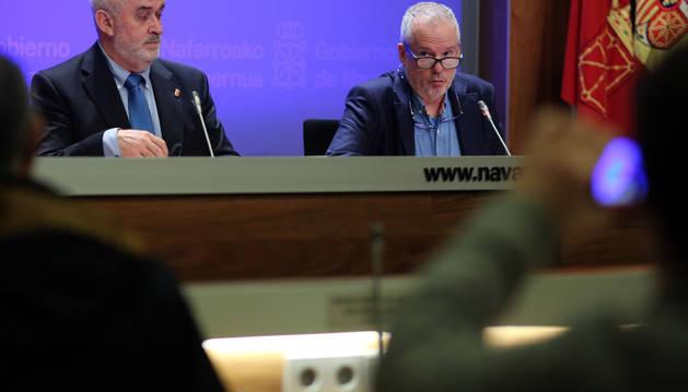 El director general de Educación, Estebe Petrizan, en una rueda de prensa anterior.
