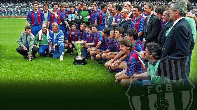 Plantilla de la primera de las cuatro ligas de Cruyff.
