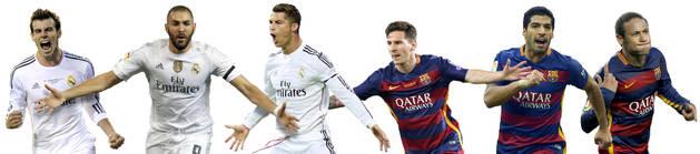 Barcelona y Real Madrid, 90 minutos para un título con ventaja azulgrana.